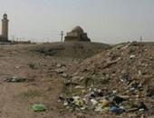 """""""الآثار"""" تبدأ ترميم قبة أبو سمرة ويحيى البصرى بمنطقة البهنسا فى المنيا"""