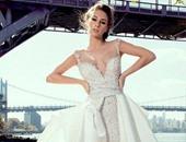 9e3ae70d3437f بالصور.. فساتين زفاف مناسبة لكل شخصية من الرومانسية للمطرقعة