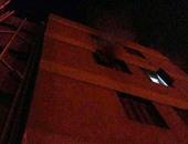 """بالصور.. السيطرة على حريق فى """"سكن الأطباء"""" بمستشفى جامعة طنطا"""