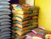 القبض على صاحب مخزن بحوزته 3.5 طن أرز بغرض الاحتكار فى بنى سويف