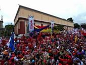 مسيرة لأنصار المعارضة فى فنزويلا للمطالبة بإجراء استفتاء على إقالة مادورو