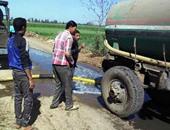 """""""مياه الشرب"""" ردا على مطالب بإنشاء شبكة صرف بعزبة بهجت: لا يقع ضمن اختصاصنا"""