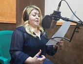 """مها أحمد تطمئن جمهورها على تحسن صحة نجلها: """"الحمد لله ربنا كريم"""""""