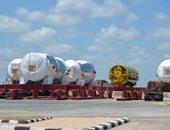 """بالصور.. """"البرلس"""" ينتظر 16 توربينا جديدا لتركيبها فى أكبر محطة كهرباء في الشرق الأسط"""