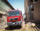 السيطرة على حريق غرفة ملحقة بكنيسة العذراء غربى الإسكندرية دون إصابات