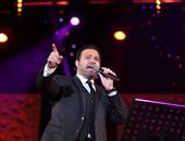 عاصى الحلانى يتغيب عن حضور حفل افتتاح مهرجان الموسيقى العربية