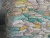 ضبط أمين مخزن جملة اختلس 10 أطنان أرز مربوط على النقاط التموينية بالغربية