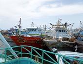 ممر ملاحى لتأمين حركة مراكب الصيد بمصب النيل فرع رشيد