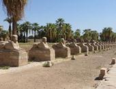 """بالفيديو والصور..""""هنا معبد الكرنك"""" أعظم مملكة دور عبادة فرعونية بأرض الأقصر"""