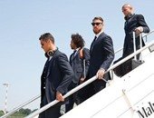 بالفيديو والصور.. ريال مدريد يحظى باستقبال الأبطال فى ميلانو