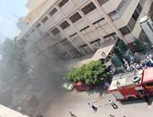 الحماية المدنية بسوهاج تسيطر على حريق بقسم الأطفال بالمستشفى الجامعى
