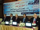 افتتاح فعاليات مؤتمر لزراعة الشعر بجامعة المنصورة