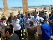 بالصور.. تفاصيل جولة وزير الآثار بمنطقة وادى النطرون والساحل الشمالى