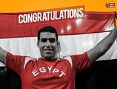 رغم استبعاده.. إيهاب عبد الرحمن فى اللوحات الإعلانية للاعبى الأولمبياد