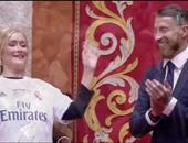 بالصور.. رئيسة بلدية مدريد تكرم نجوم الملكى ودقيقة صمت على مشجعى العراق