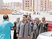 تسكين 52 أسرة من عقارات الخطورة الداهمة بمنشأة ناصر فى الأسمرات