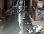 صحافة المواطن - بالصور.. شوارع المنتزه بالإسكندرية تعوم فى مياه الصرف