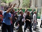 بالصور..توافد الصحفيين على مقر نقابتهم للمشاركة فى الجمعية العمومية الطارئة