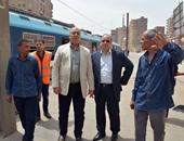 رئيس المترو يتفقد عددا من محطات الخط الأول استعدادا للعام الدراسى الجديد