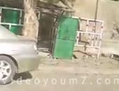 صحافة المواطن.. قارئ يشارك بفيديو موقع انفجار كشك غاز فى أرض اللواء