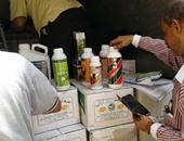 """""""الزراعة"""": ضبط 4403 عبوة من المبيدات غير المسجلة والمحظور تداولها"""