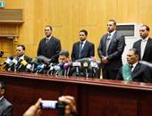 """بدء محاكمة المتهمين بقضية """"كتائب أنصار الشريعة"""" وتحريك دعوى إهانة المحكمة ضدهم"""