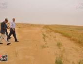 طرح 13 ألف فدان للاستثمار بمدينة الفرافرة