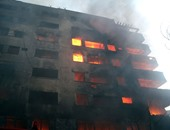 شاهد بحريق العتبة للنيابة:سيارات المطافى وصلت بعد 45 دقيقة من اشتعال النيران