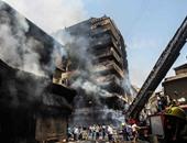 """محافظة القاهرة: أصحاب """"عقارات العتبة"""" المحترقة ارتكبوا مخالفات جسيمة"""