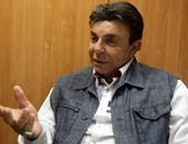 سمير صبرى يسجل حلقة للاحتفال بعيد تحرير سيناء على إذاعة الأغانى