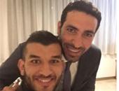 """أمير سعيود ينشر صورة جديدة له مع أبو تريكة على """"إنستجرام"""""""