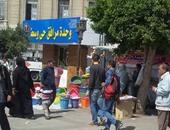 صحافة المواطن.. الباعة الجائلين يفترشون أمام وحدة مرافق وسط فى الإسكندرية