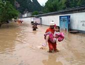 مقتل 42 شخصا وفقدان 25 بسبب الأحوال الجوية السيئة فى الصين