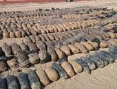 قوات تأمين محور قناة السويس تحبط محاولة سائق تهريب 140 كيلو بانجو