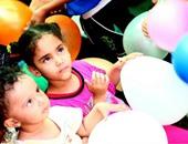 بالصور.. حفل ترفيهى لشباب بكرة أحلى بهدف نشر السعادة بين الأطفال المرضى