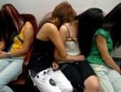 حبس 6 فتيات ضبطوا أثناء ممارستهم الرزيلة فى العجوزة