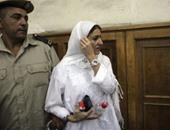 """أول صور لمحاكمة """"سيدة المطار"""" فى واقعة اعتدائها على ضابط شرطة"""