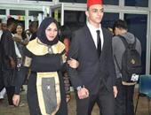 طلاب مصر يغزون ماليزيا بالطربوش والفرعونى والحلو كنافة ورز بلبن