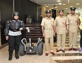 شرطة دبى تبدأ السير بدراجات هوائية وكهربائية صديقة للبيئة