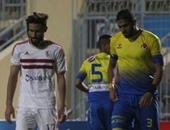 مشادة كلامية بين محمد الجيلانى والمدير الفنى للأسيوطى فى المران