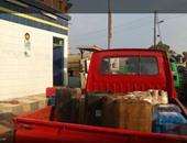 """""""واتس آب اليوم السابع"""": تهريب السولار فى جراكن بمحطة بنزين بالمنوفية"""