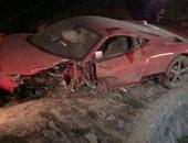 مصرع شخص وإصابة 2 فى حادث انقلاب سيارة على طريق السلوم