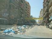 واتس آب اليوم السابع: تكدس القمامة فى الهانوفيل والمستشفى الجامعى بالإسكندرية