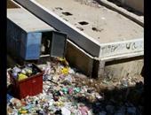 """""""واتس آب اليوم السابع"""": تراكم القمامة فى ميدان العروسة بالغردقة"""