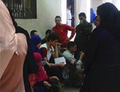 """""""واتس آب اليوم السابع"""": تكدس المواطنين أمام السجل المدنى بأوسيم"""