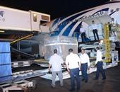 شركة مصر للطيران تنقل شحنة آثار فرعونية من لندن مجانا