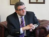 سفير مصر بروسيا يعرض استخدامات قناة السويس الجديدة فى مؤتمر صحفى بموسكو