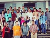 """فريق OBM ينظم مؤتمر """"ابنى مستقبلك"""" بحضور 1500 طالب بجامعة النيل"""