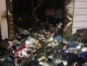 السيطرة على حريق شب في محل للهواتف المحمولة ببني سويف