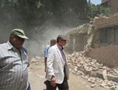 نائب محافظ القاهرة يأمر بالتحقيق فى عدم تسكين أسرة تضررت من حريق منزلها